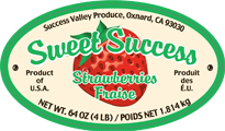 success 4 lb. label
