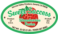 success 2 lb. label